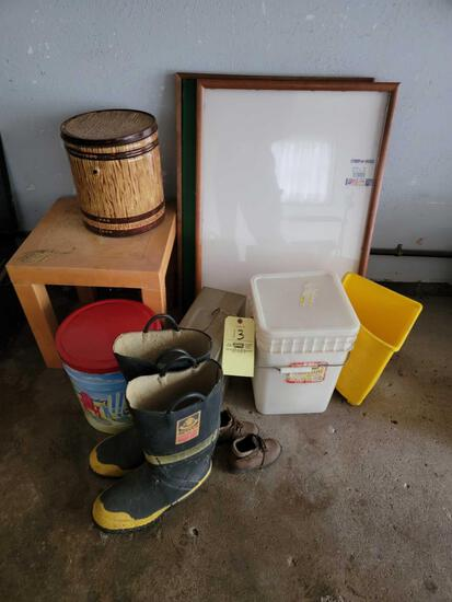 Buckets, Boots, Boards