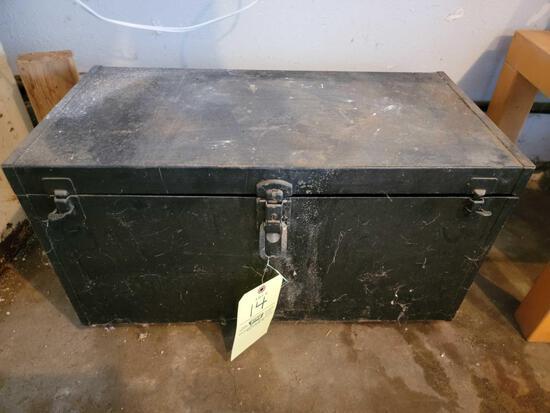 Metal Toolbox on Casters