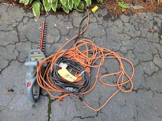 Electrical Cord and Trimmer