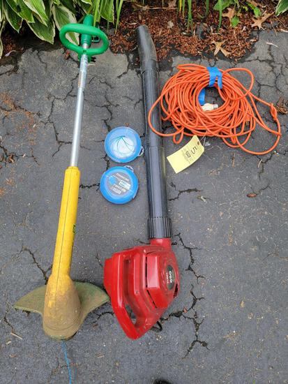 Blower and Trimmer, Electrical Cord