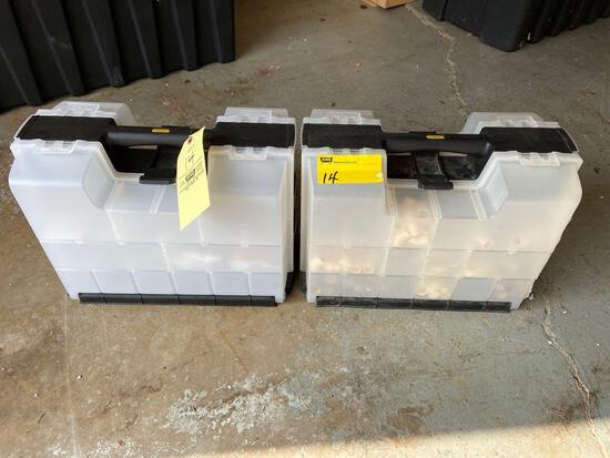 2 Stanley Hardware Organizers