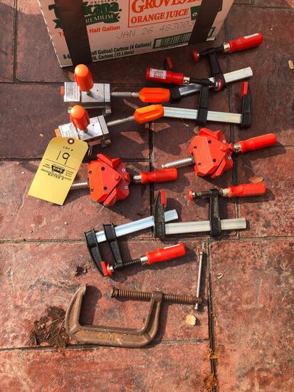 Besse and Pony Clamps