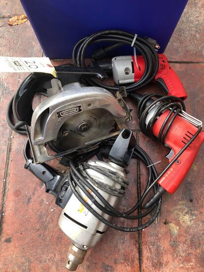 Milwaukee Drivers, Drill, Circular Saw, Hardware