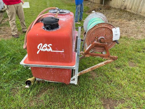 JBS 400-Gallon PTO Orchard Sprayer