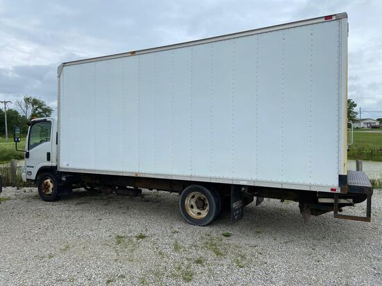 2012 Isuzu NPR HD Box Truck