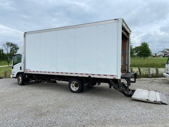 2016 Isuzu NPR HD Box Truck