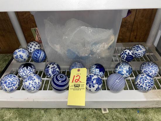 17 Oriental spheres