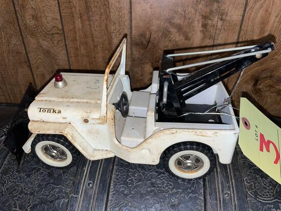 Tonka Wrecker Truck