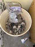 Bucket of flint
