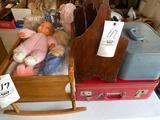 Dolls - luggage - misc