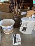 Planter - crock - coffee maker