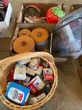 Spongeware canisters - tins - misc