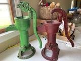 Pair of pitcher pumps