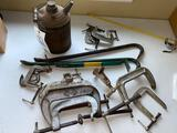 Tools - clamps - can