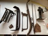 Primitives - old saw - hame - misc