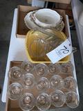 Pattern glass - platters