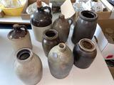 Assorted crocks and jugs 8