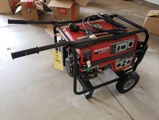 Honda EB 6500 generator