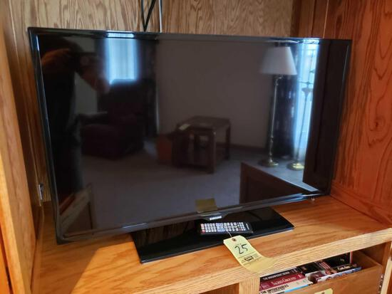 Samsung television with DVD/VHS player