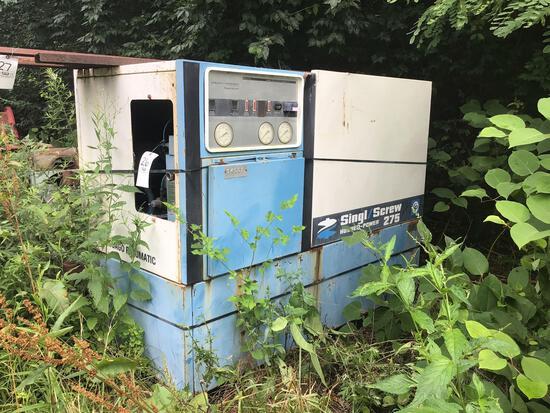 Chicago Pneumatic Single Screw Hush Power 275 Compressor