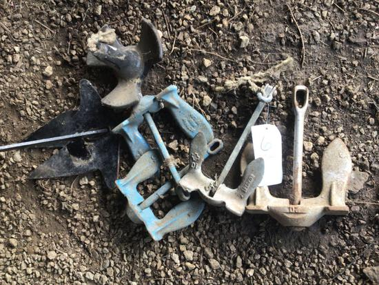 Assorted Boat Anchors