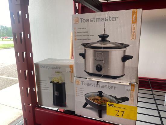 Toastmaster kitchen items