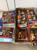 Screwdrivers, Car door lights and shoe polish kits