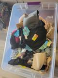 Tote of new clothing ladies, men's and children assorted