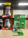 Star Wars Bluetooth, GO D-O dolls and craft paint