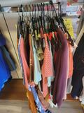 Ladies clothing, dresses, shirts, sizes XXX to small