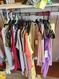 Ladies dresses, shirts, sizes XXX to small