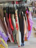 Mixed group of t-shirts, dresses and polos