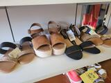 Assorted ladies sandals
