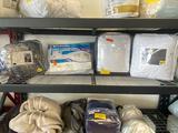 Mattress pads, comforter and pillow