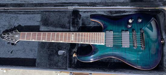 ESP LTD 7 string electric guitar