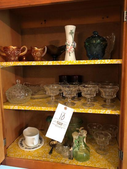Carnival Glass, Depression Glass, Cruet