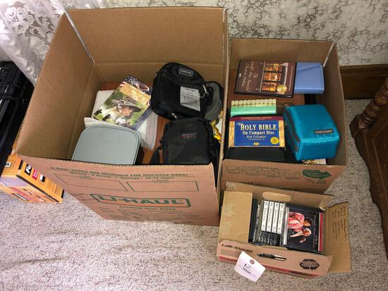 Large Lot of Cassettes and CDs