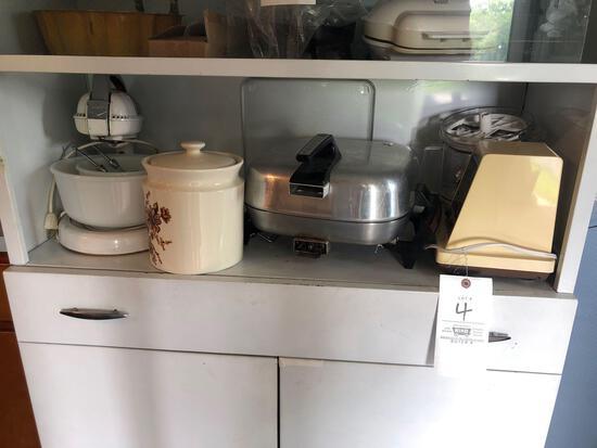 Mixer, Food Processor, Fry Pan