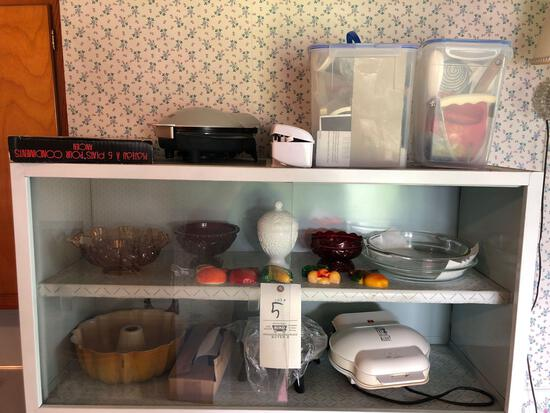 Glassware, Utensils, Small Kitchen Grills