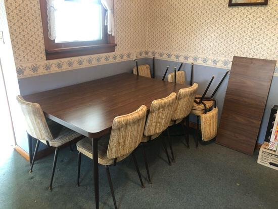 Dinette, (6) Chairs and Extra Leaf