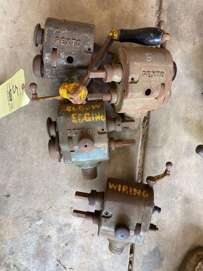 Pexto sheet metal edging machine various edges