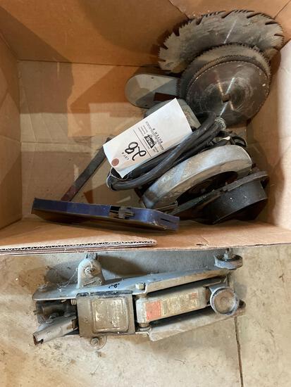 Circular saw, 4000lb floor Jack