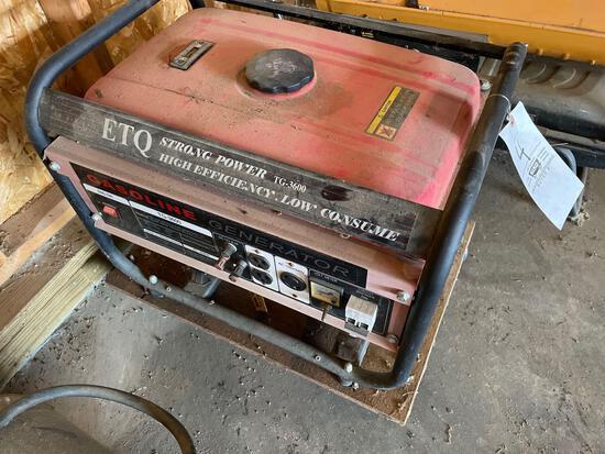 ETQ TG3600 Generator