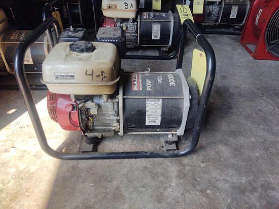 Baldor Generator PowerChief PC30H 3000w