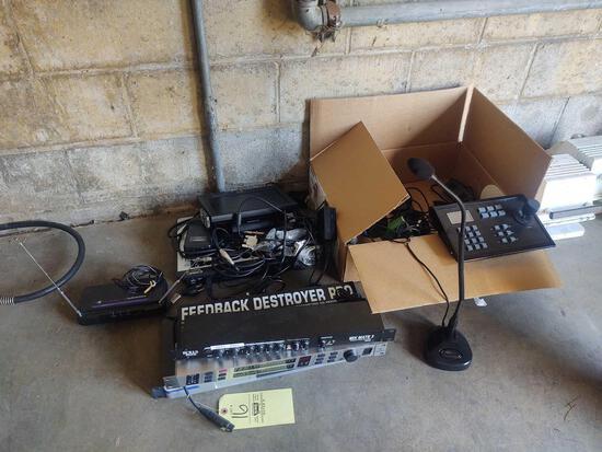 Assorted Audio Equipment