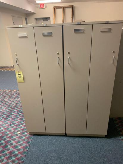 6 Two Locker Sections