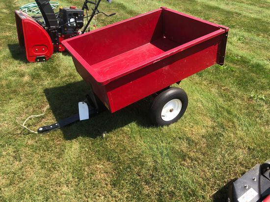 Dumping Lawn Cart