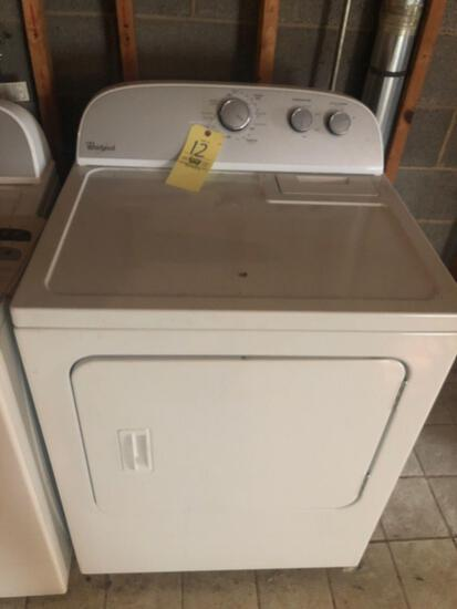 Whirlpool electric or gas dryer