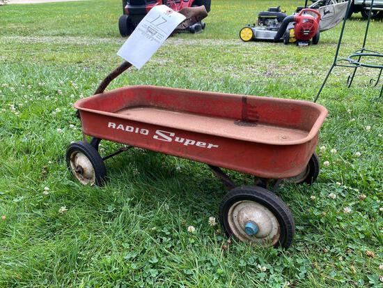 Radio Super red wagon