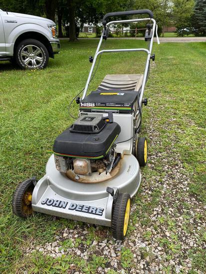 John Deere 14SB 21 inch 4.5hp mower with bagger